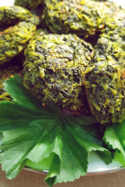 קציצות חוביזה בסדנת בישול בריא עונתי